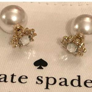 NWOT Kate Spade ♠️ Reversible Rhinestone Earrings